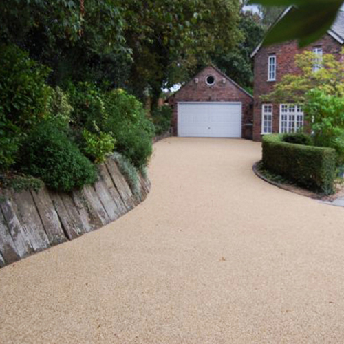 resin bound aggregate system