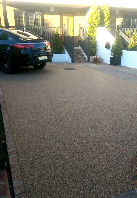 ireland permeable resin driveways